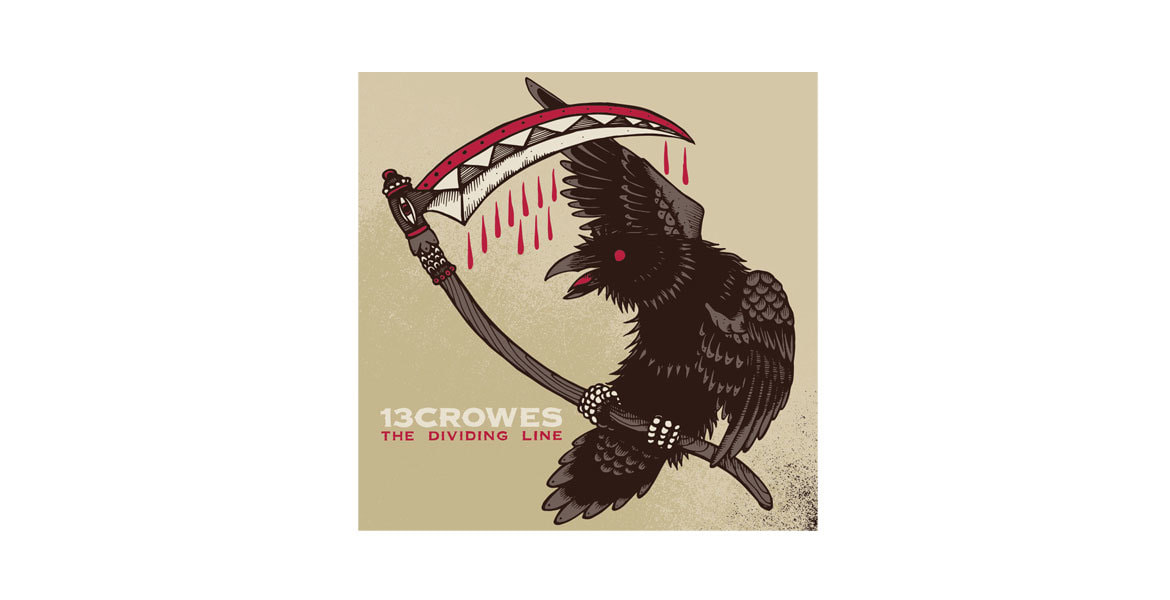 13 Crowes - The Dividing Line, CD