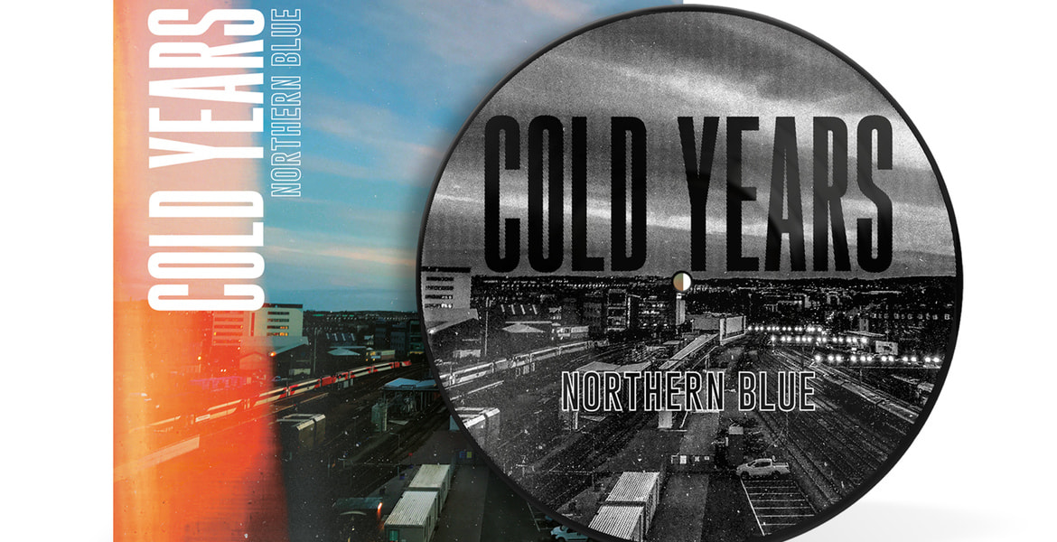 Cold Years - Northern Blue, Silkscreen Vinyl